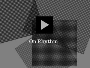 Rhythm connects us with nature at a most fundamental level. Artists and designers freely adopt from the rhythmical currents which are alive in every aspect of the visual world. It surrounds us. The video On Rhythm was created to help viewers more readily identify how, when and where rhythm appears.