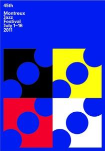 2011 Montreux Jazz Festival poster