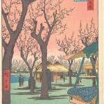 Plum Garden at Kamata-Hiroshige
