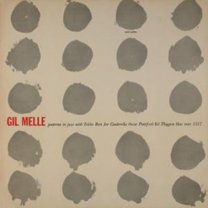 gil-melle-patterns-in-jazz-album-cover